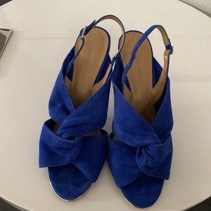 $60 Banana Republic blue sandals size 8